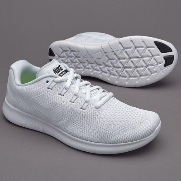 huge discount f5c50 98d14 Women's White Nike Free RN 2017
